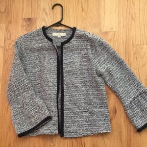 Loft petite woven jacket